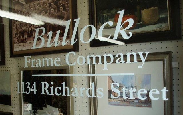 BULLOCK FRAME COMPANY « Custom Picture Framing Since 1944