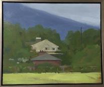 Ann Wolfer, oil on slate, 13x11, $250