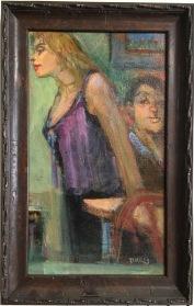 Dottie Miles, 9x14, $225